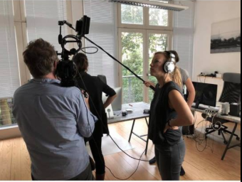 Bei Dreharbeiten Schauspielcoaching Hamburg