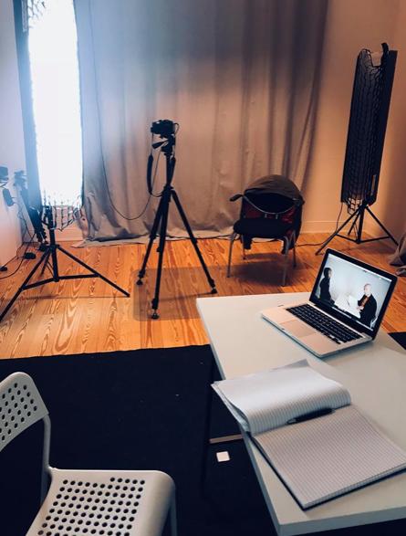 Camera Acting Unterricht bei Cosma Dujat
